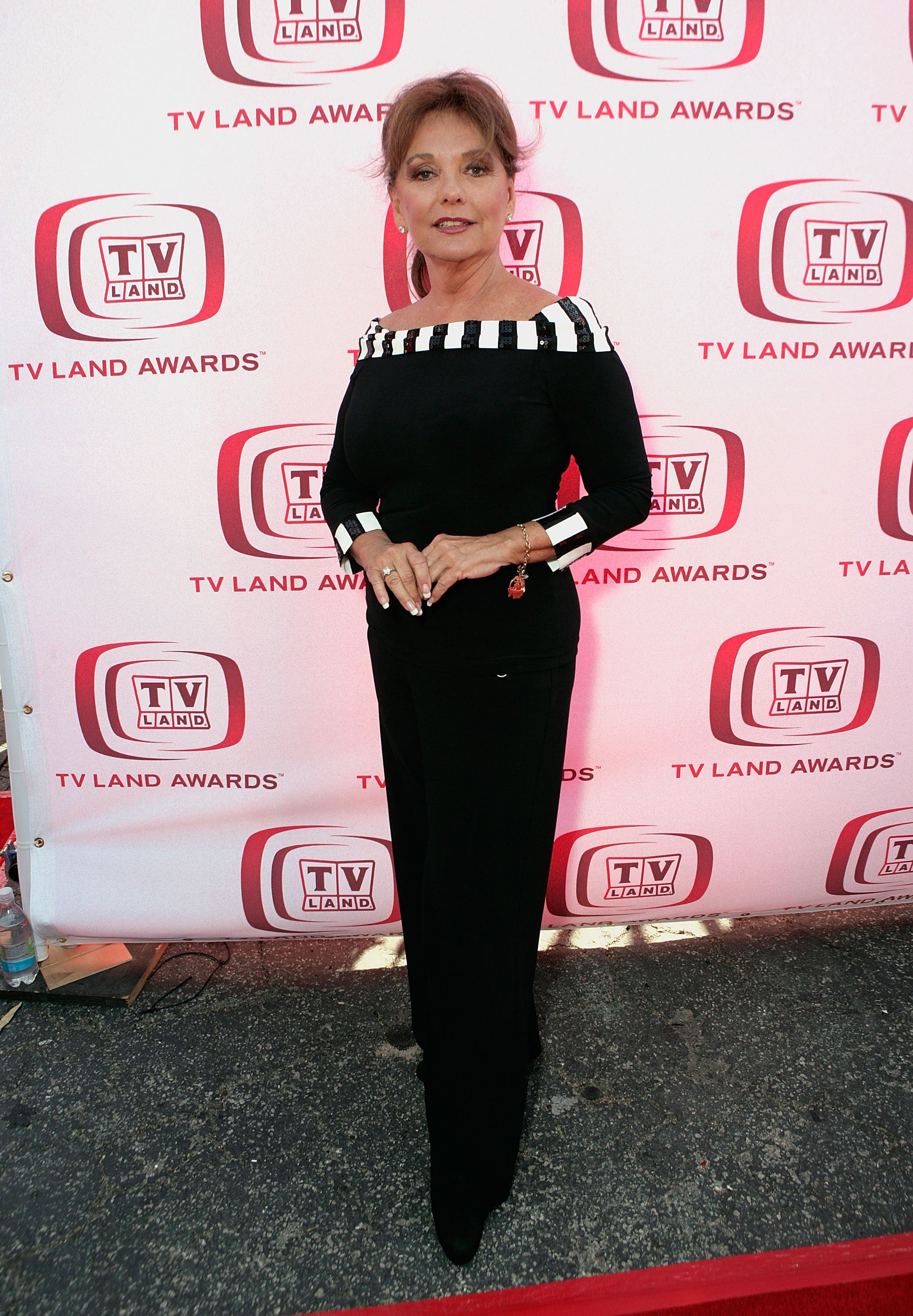 "Image Source: Getty Images/Todd Williamson/Actress Dawn Wells arrves at the 6th annual ""TV Land Awards"" held at Barker Hangar on June 8, 2008 in Santa Monica, California"