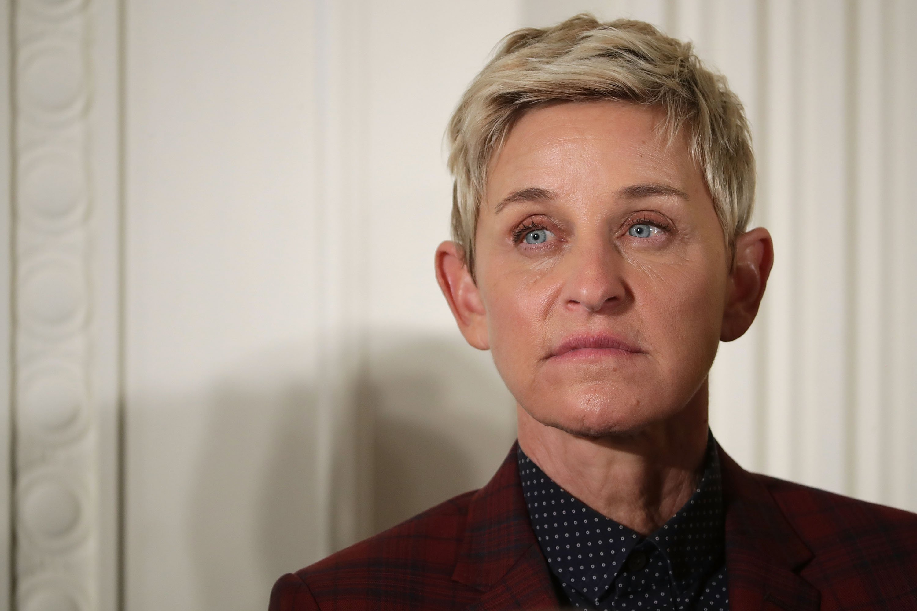 Image Source: Getty Images| A photo of Ellen