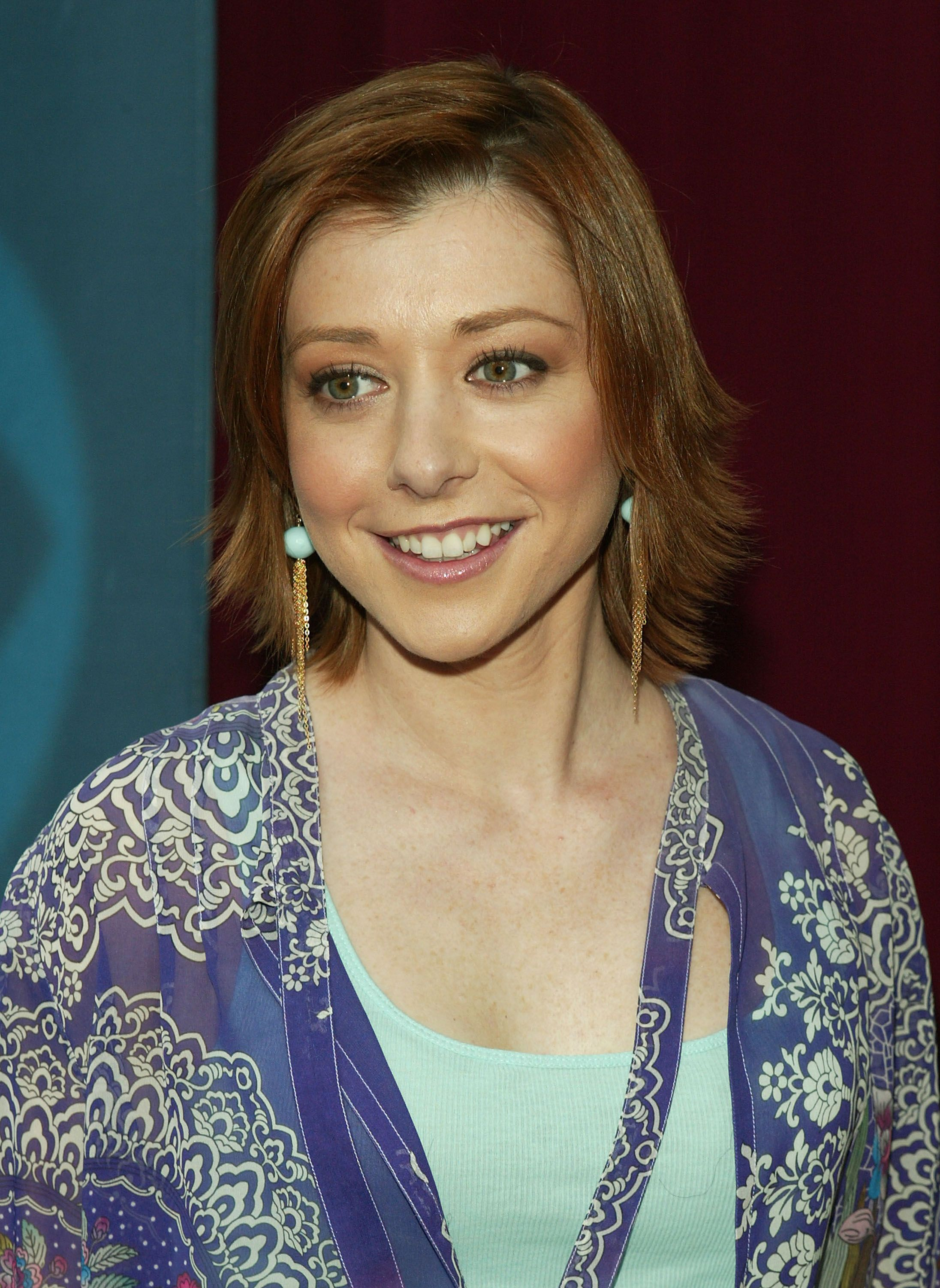 Alyson Hannigan was famous for her other role before starring in American Pie / Getty Images