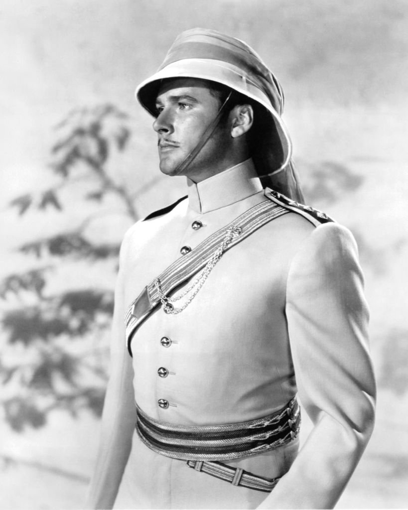 Image Source: Getty Images/Silver Screen Collection/Australian-born American actor Errol Flynn (1909 - 1959) as Major Geoffrey Vickers in 'The Charge Of The Light Brigade', directed by Michael Curtiz, 1936