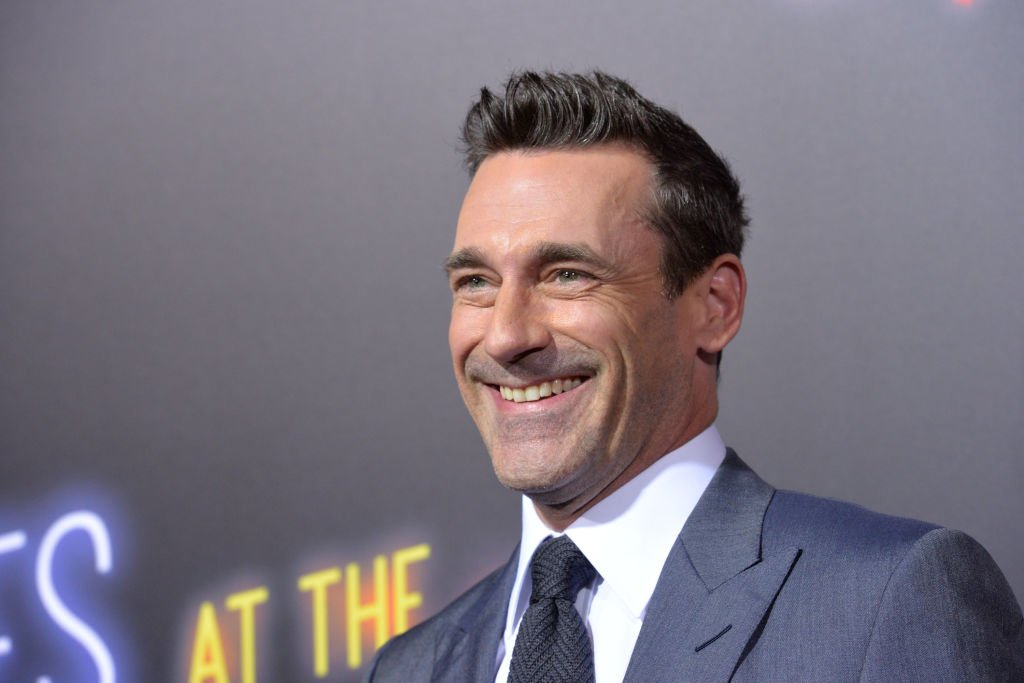 "Image Source: Getty Images/Getty Images/Michael Tullberg | Hamm at the ""Bad Times at El Royal"" premier"
