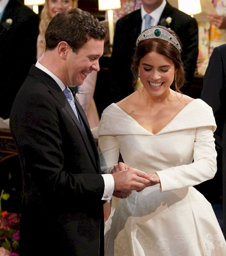 Image Credit: Getty Images / Princess Eugenie and Jack Brooksbank on their wedding day.
