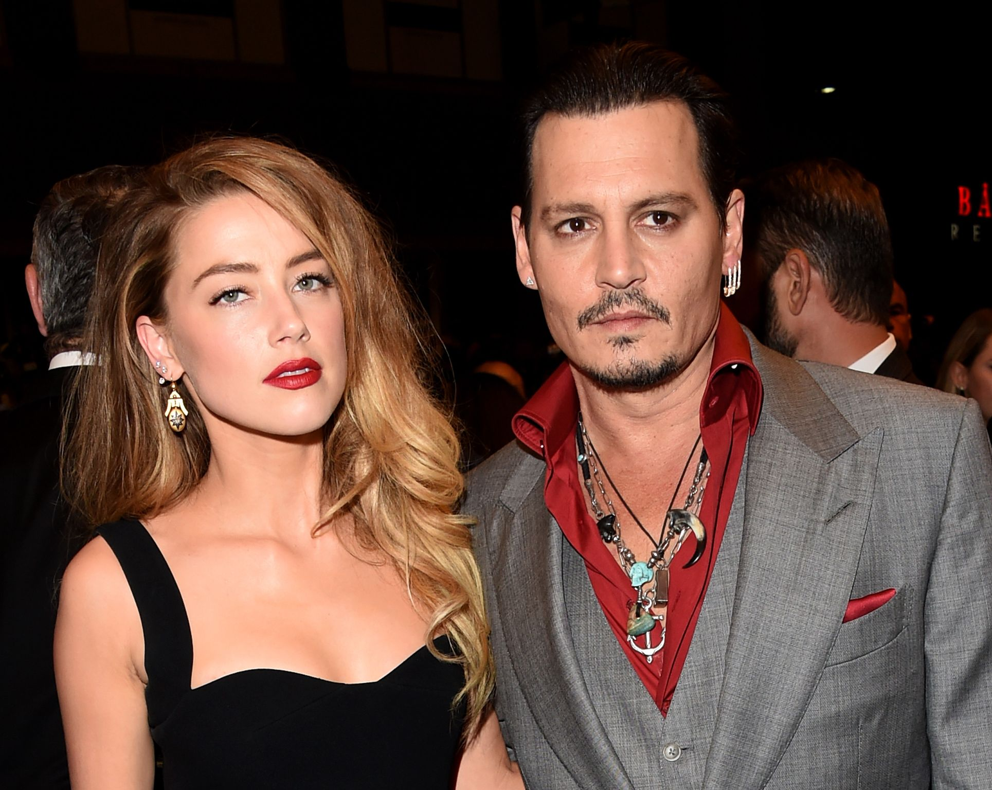 Johnny Depp and Amber Heard didn't stay married for too long / Getty Images