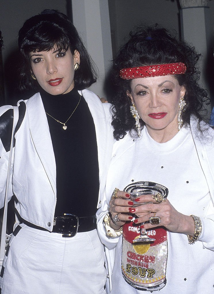 Image Credits: Getty Images / Ron Galella, Ltd. / Ron Galella Collection | Jackie Stallone and daughter Toni-Ann Filiti attend Jim Bailey's One-Man Cabaret Show to Benefit the Gay and Lesbian Adolescent Social Services on May 23, 1990 at the Cinegrill, Hollywood Roosevelt Hotel in Hollywood, California.