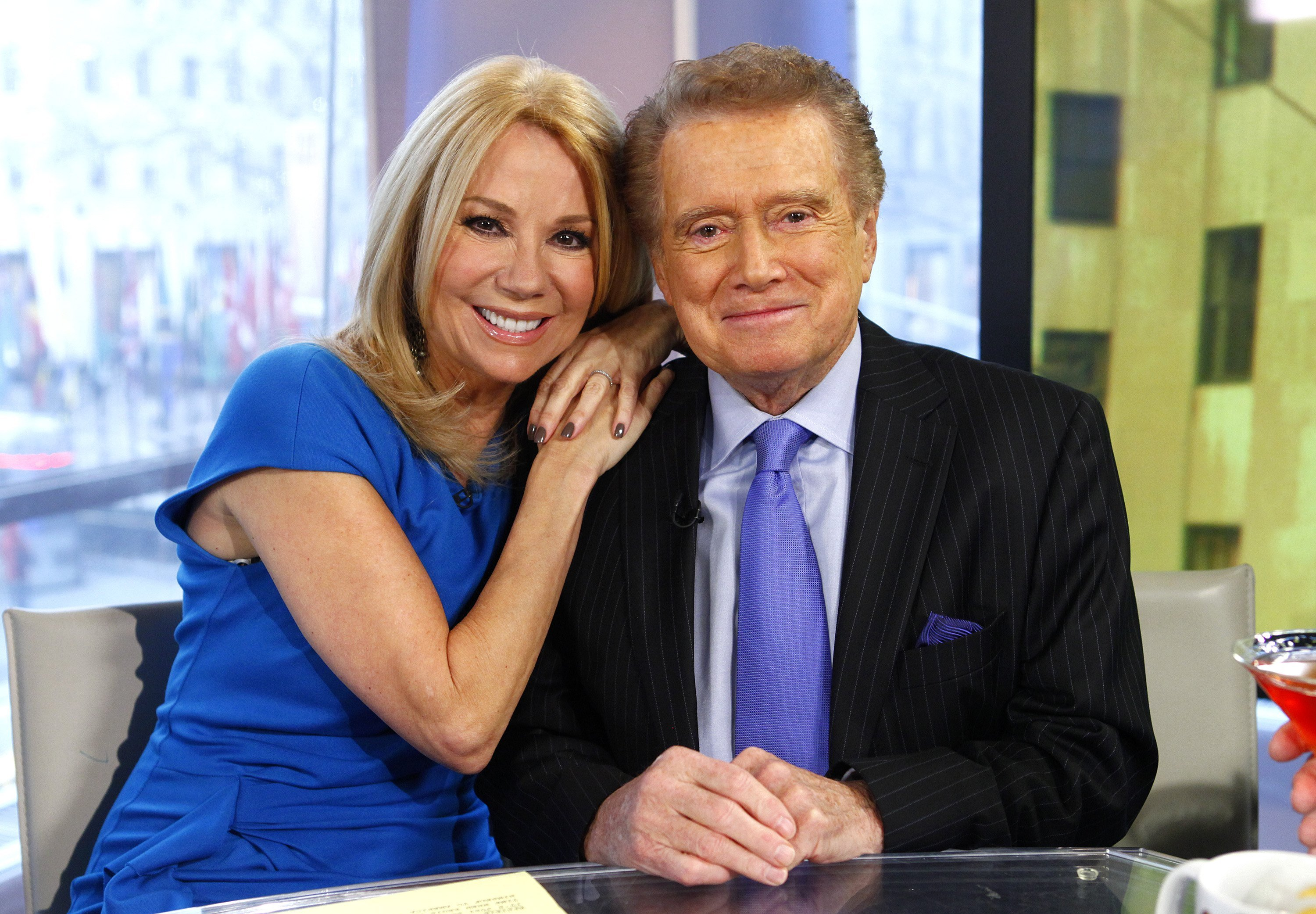 Image Credits: Getty Images / Peter Kramer/NBC/NBC NewsWire | Kathie Lee Gifford and Regis Philbin