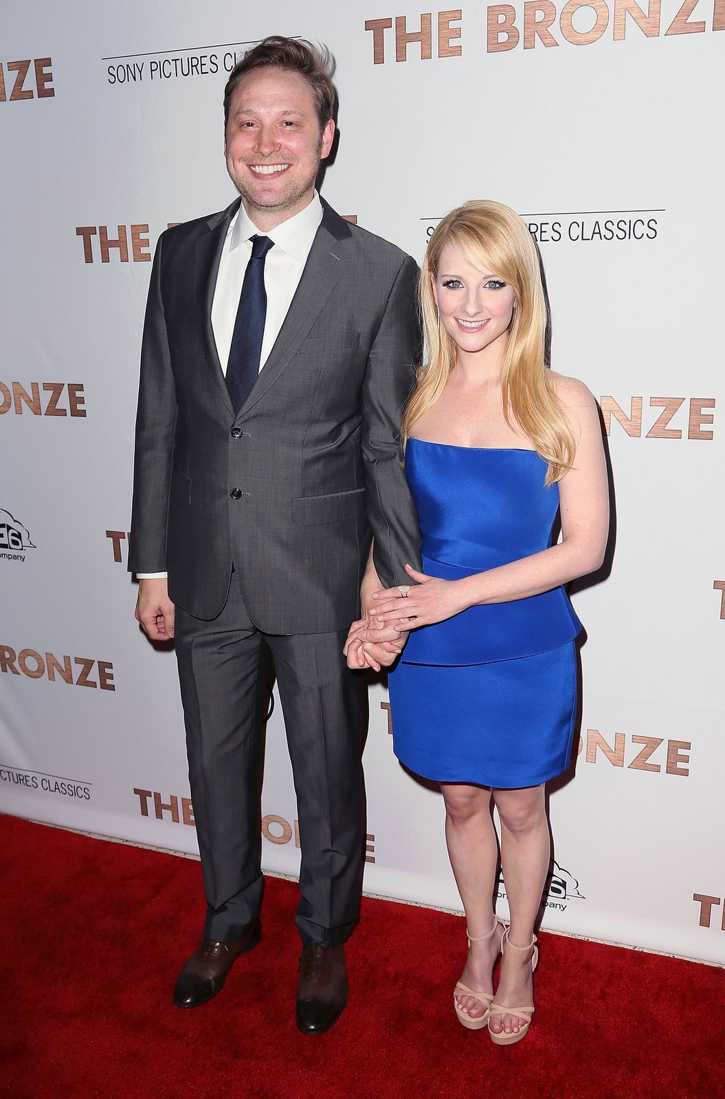 Melissa Rauch and Winston Bagel/Photo:Getty Images