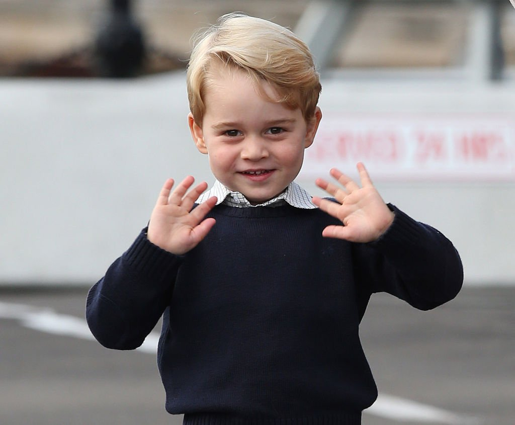Image Credit: Getty Images/WPA Pool/Andrew Milligan | Prince George during the 2016 Royal Tour To Canada Of The Duke And Duchess Of Cambridge