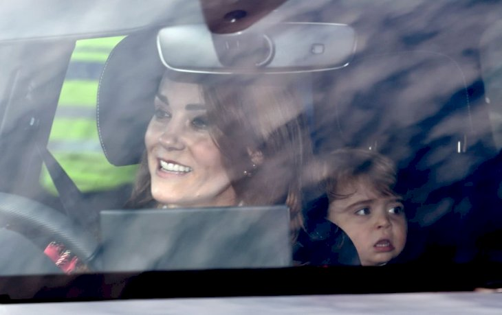 Image Credit: Getty Images / Catherine, Duchess of Cambridge and Prince Louis attend Christmas Lunch at Buckingham Palace on December 18, 2019 in London, England.