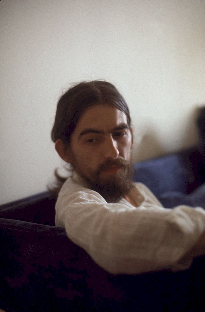 Image Credit: Getty Images / George Harrison at home.