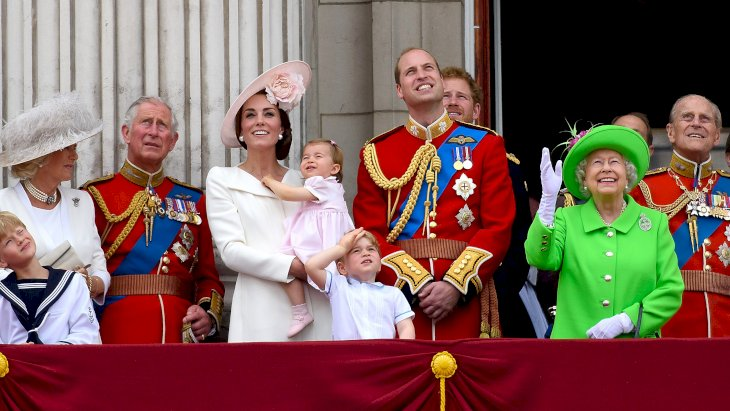 Image Credit: Getty Images / The British Royal Family on the balcony of Buckingham Palace.