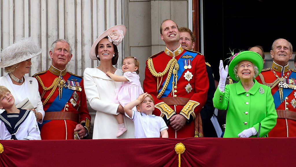Image Credit: Getty Images / Royal family on the balcony during the Trooping the Colour on June 11, 2016 in London, England.