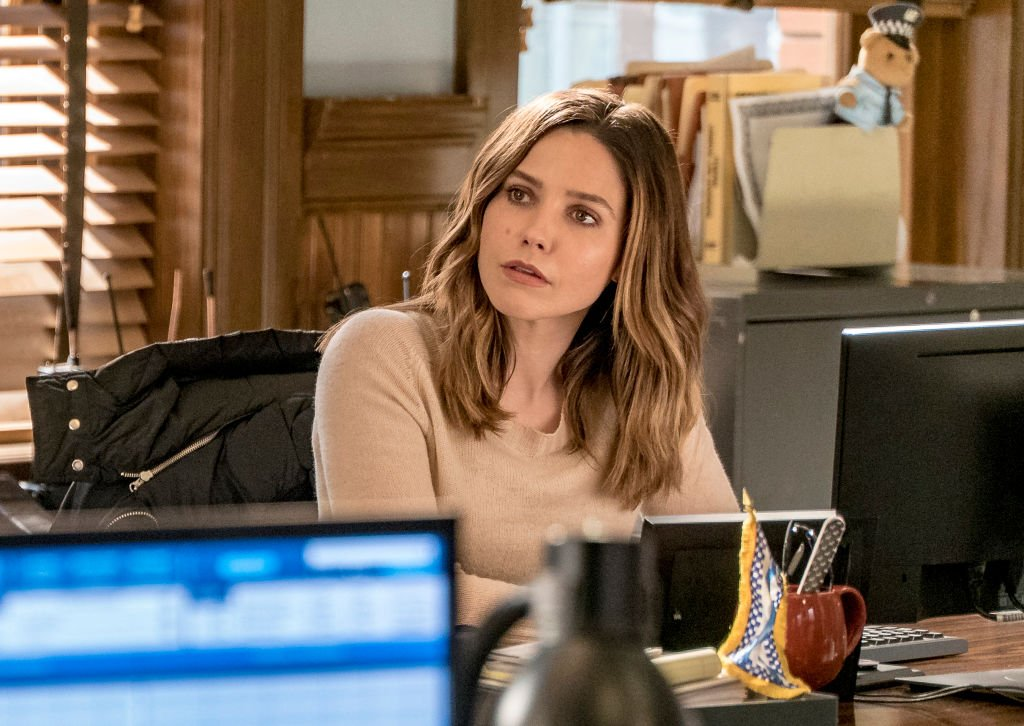 Image Credit: Getty Images / Actress Sophia Bush as Erin Lindsay for the series, Chicago P.D.