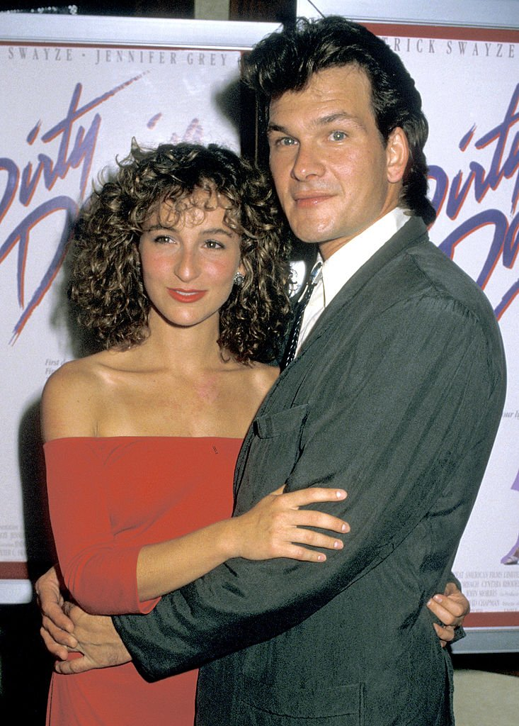 "Image Credits: Getty Images / Jim Smeal / Ron Galella Collection | Actors Jennifer Grey and Patrick Swayze attend the premiere of ""Dirty Dancing"" at the Gemini Theater on August 17, 1987 in New York City."