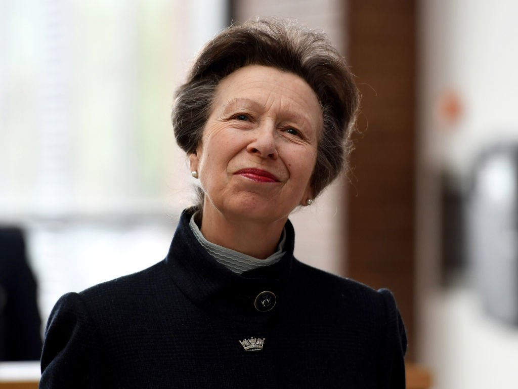 Image Credit: Getty Images/Finnbarr Webster | The lovely Princess Anne is photographed by the media.