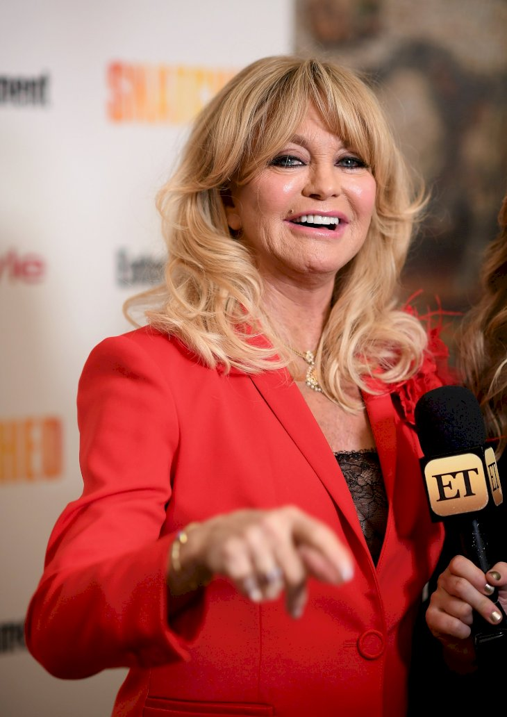 Image Credit: Getty Images / Goldie Hawn on the red carpet.