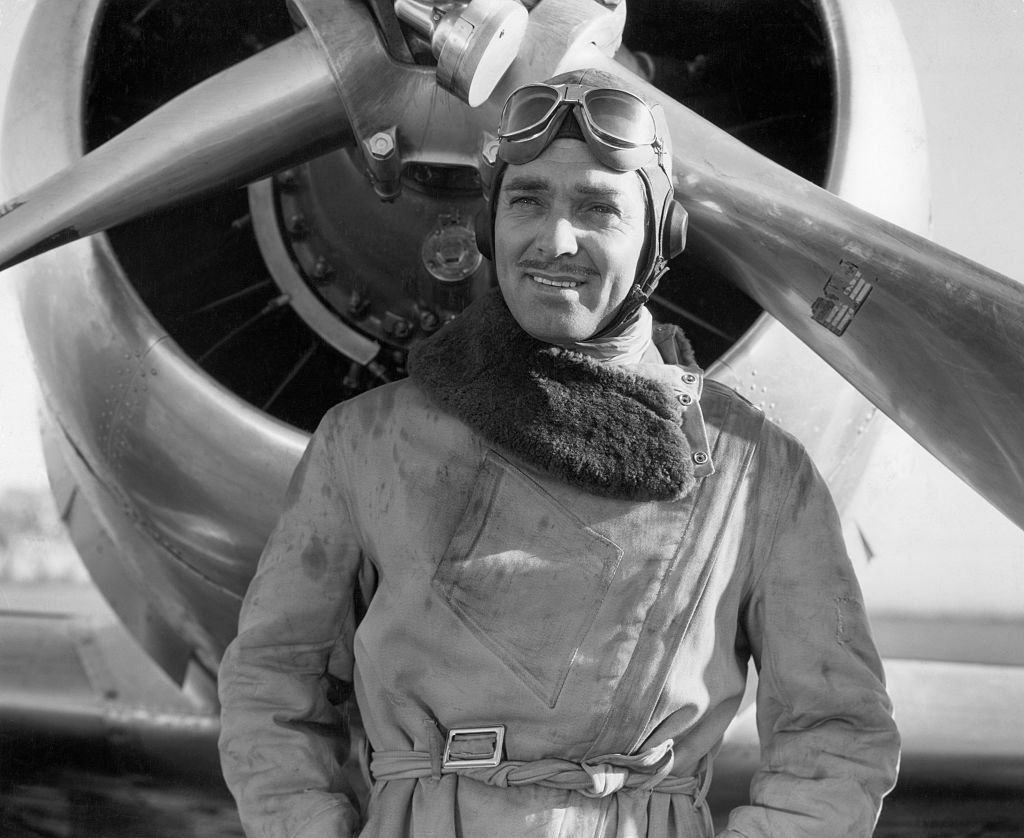 "Image Credit: Getty Images / Clark Gable plays the title role of Jim Lane, the world's greatest test pilot, in MGM's 1938 ""Test Pilot."""