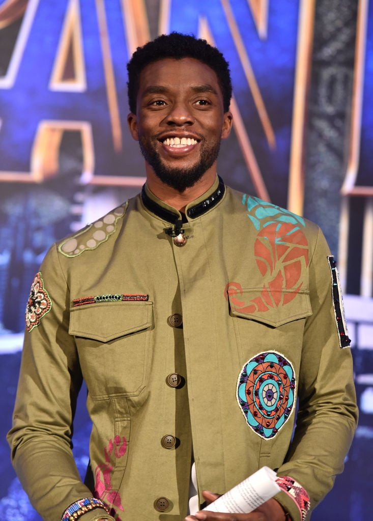 Image Credits: Getty Images / Alberto E. Rodriguez | Actor Chadwick Boseman attends the Marvel Studios' BLACK PANTHER Global Junket Press Conference on January 30, 2018 at Montage Beverly Hills in Beverly Hills, California.