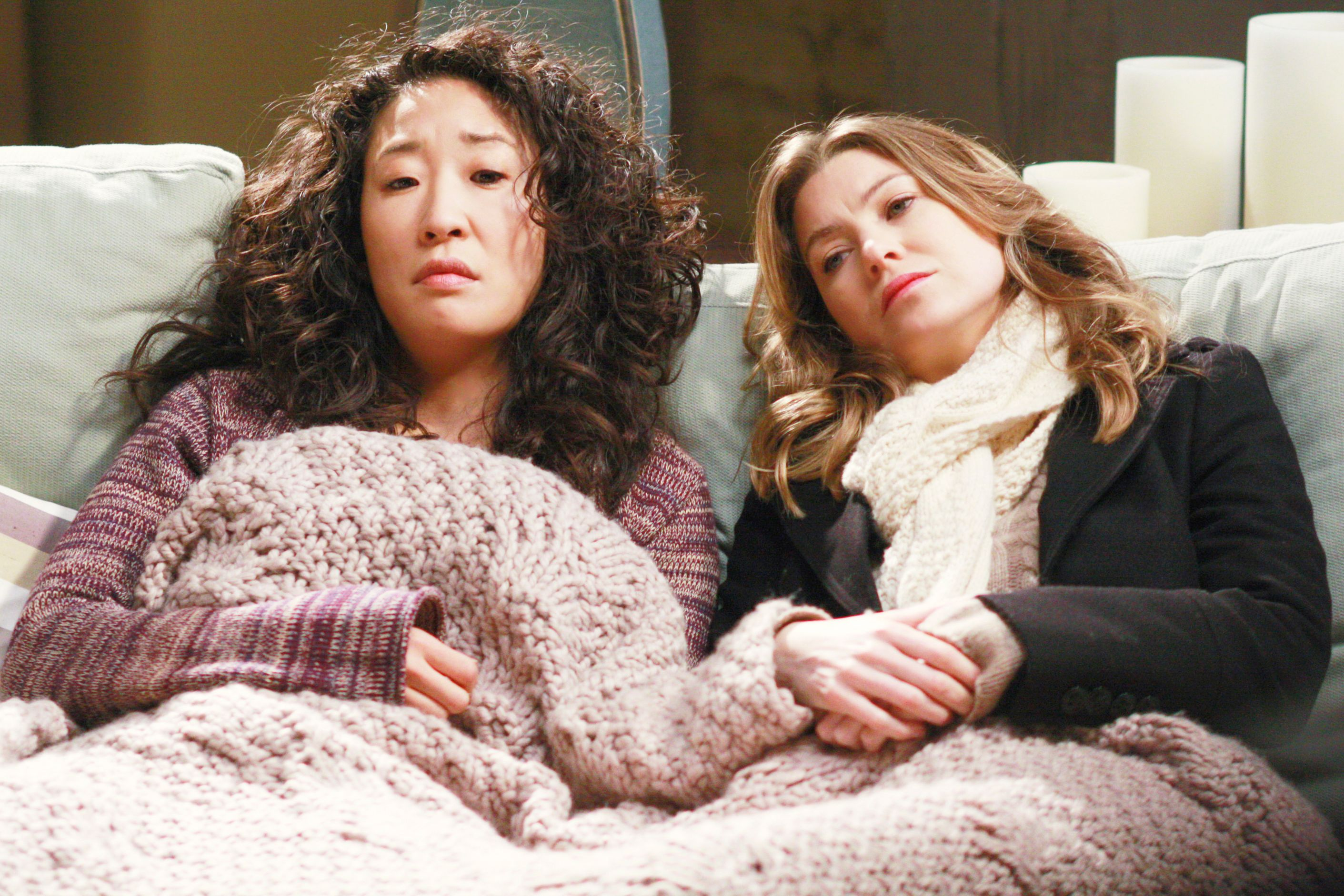 Christina Yang and Meredith Grey/Photo:Getty Images