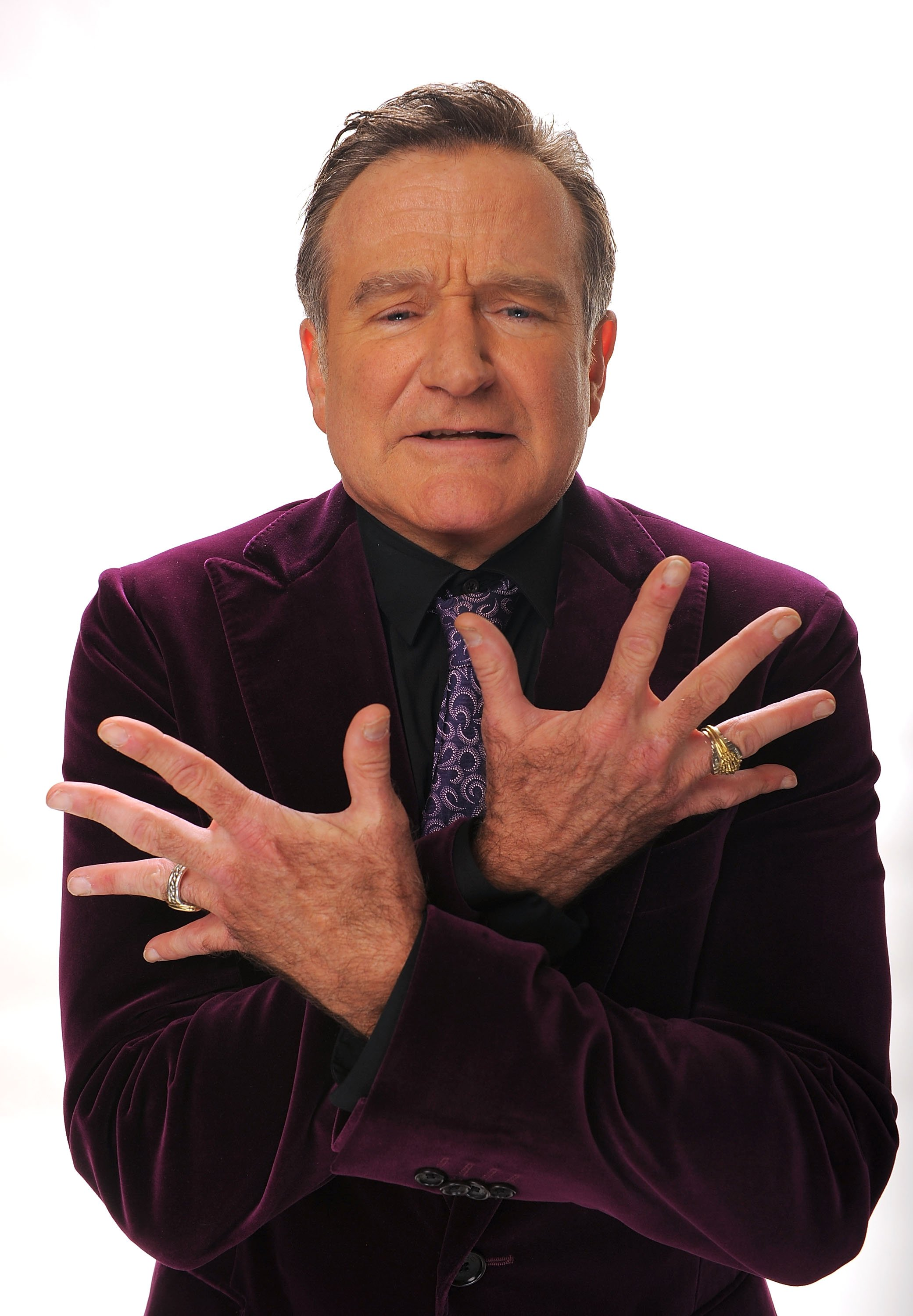 Image Credits: Getty Images / Michael Caulfield | Actor Robin Williams poses for a portrait during the 35th Annual People's Choice Awards held at the Shrine Auditorium on January 7, 2009 in Los Angeles, California.