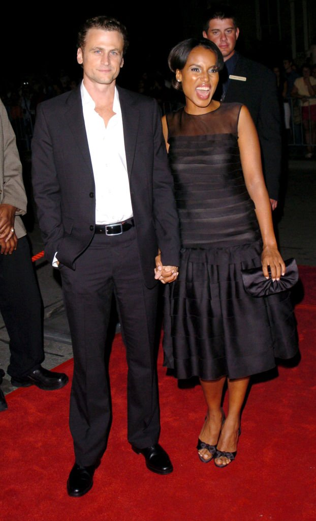 Image Source: Getty Images/George Pimentel/David Moscow and Kerry Washington during 2004 Toronto International Film Festival