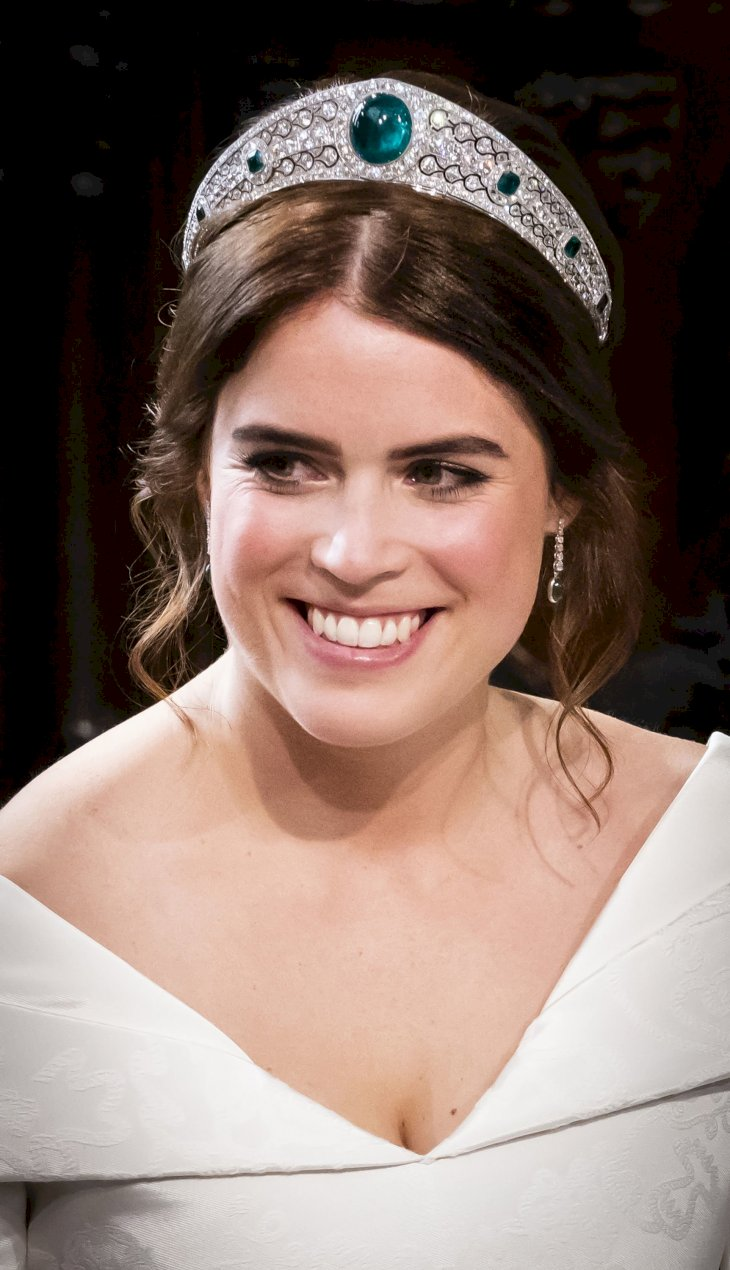 Image Credit: Getty Images / Princess Eugenie on her wedding day.
