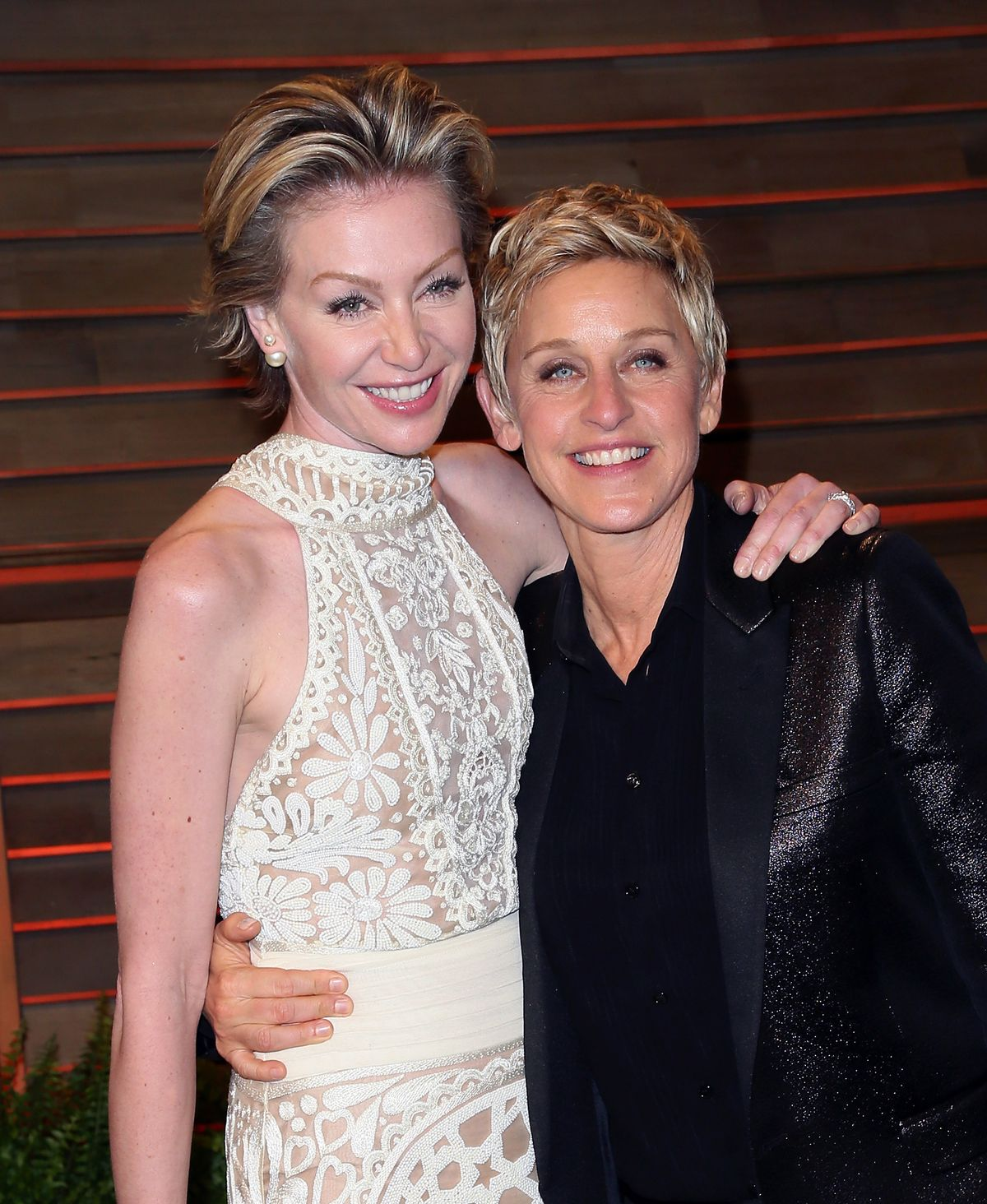 Ellen DeGeneres and Portia de Rossi/Photo:Getty Images