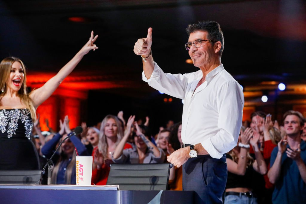 Image Credit: Getty Images / America's Got Talent. Pictured: (l-r) Sofia Vergara, Simon Cowell.