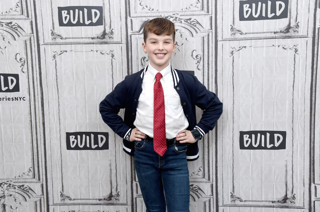 "Image Credit: Getty Images / Actor Iain Armitage visits the Build Series to discuss the shows ""Young Sheldon"" and ""Big Little Lies"" at Build Studio on September 20, 2019 in New York City."