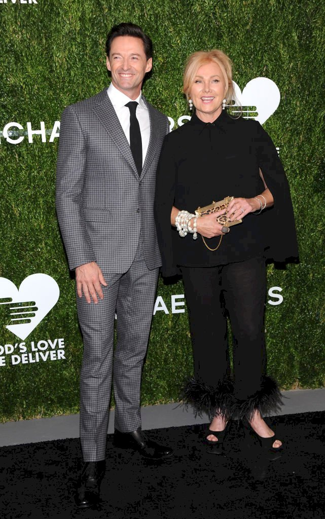 Image Credit: Getty Images / Hugh Jackman and Deborra-Lee Furness attend an event.