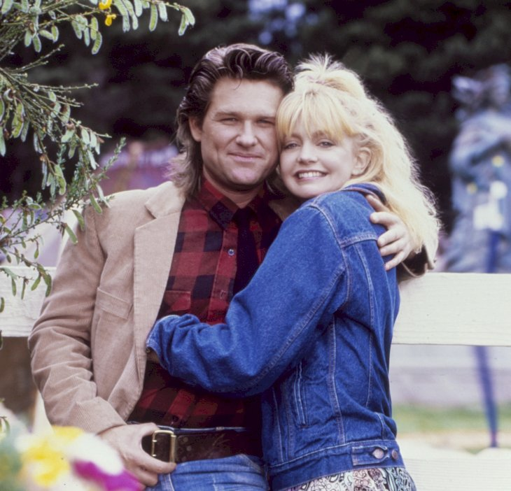 Image Credit: Getty Images / Goldie Hawn and Kurt Russell in the 80's.