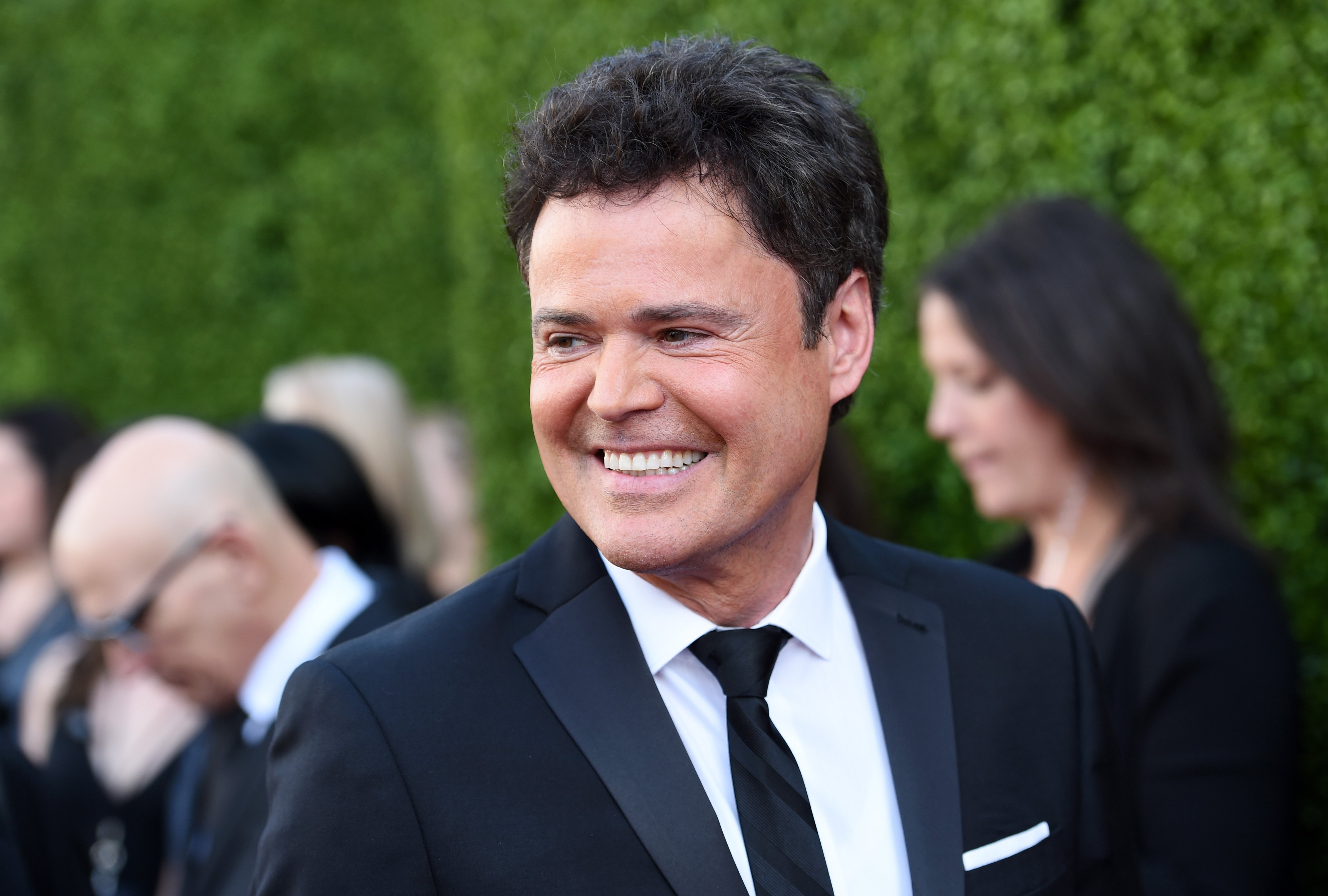 Image Credits: Getty Images / Amanda Edwards / WireImage | Singer Donny Osmond arrives at the 2015 TV LAND Awards at the Saban Theatre on April 11, 2015 in Beverly Hills, California.