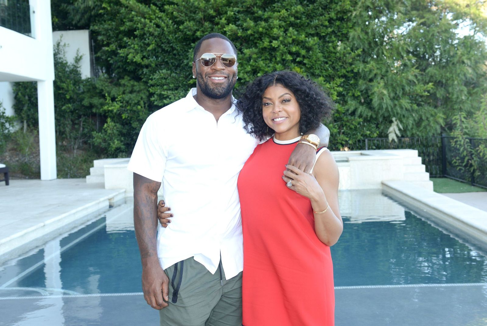 Taraji P. Henson and Kelvin Hayden/Photo:Getty Images