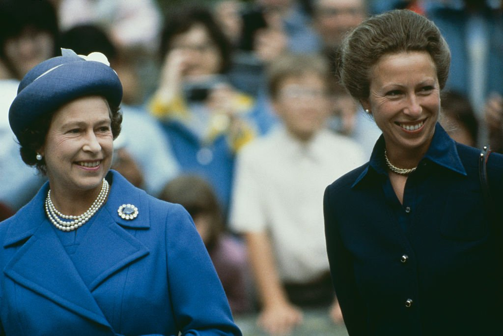 Image Credit: Getty Images / Queen Elizabeth II and Princess Anne at Balmoral, Scotland, 14th August 1983.
