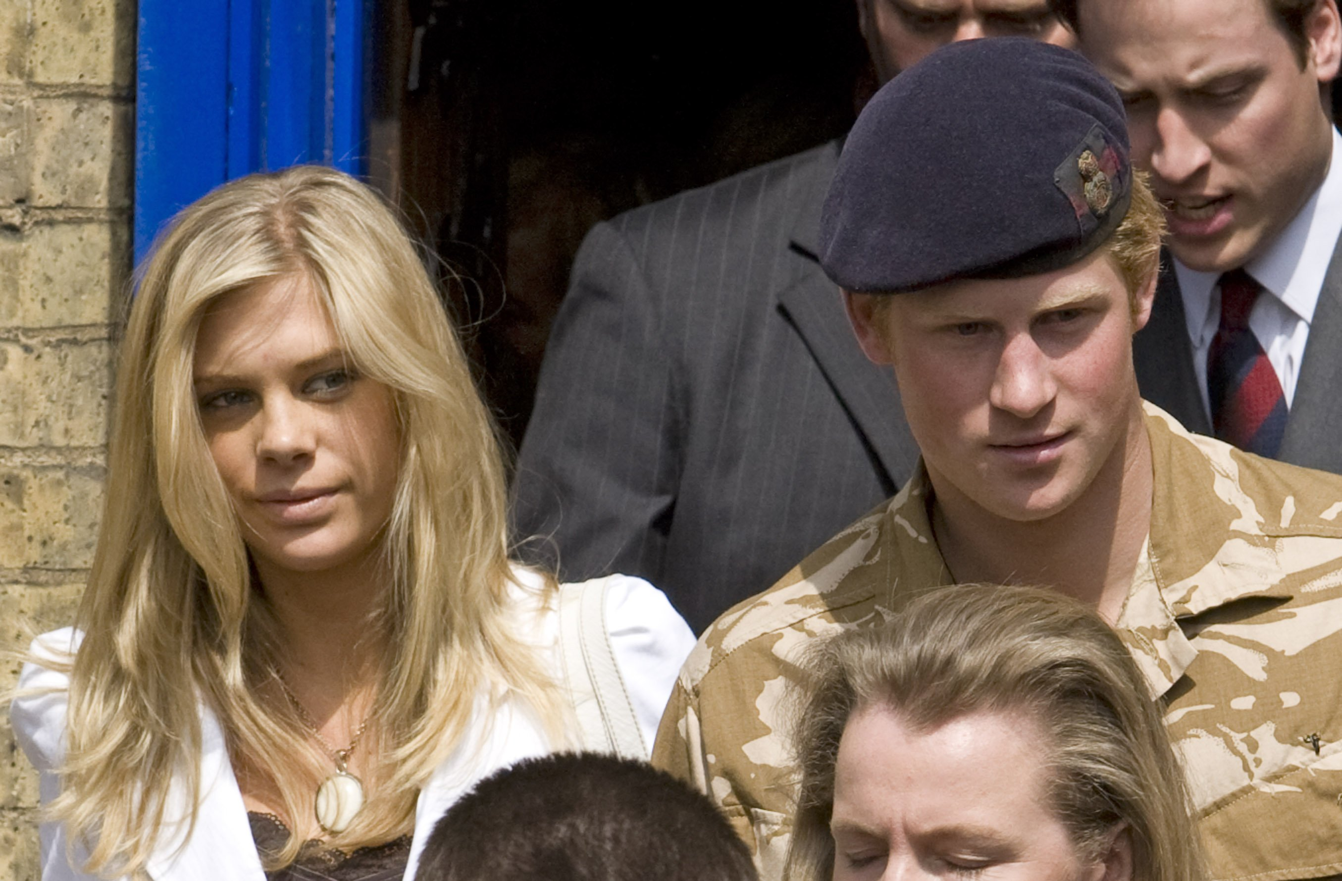 Image Credits: Getty Images / Mark Cuthbert / UK Press   Prince Harry With Girlfriend Chelsy Davy.