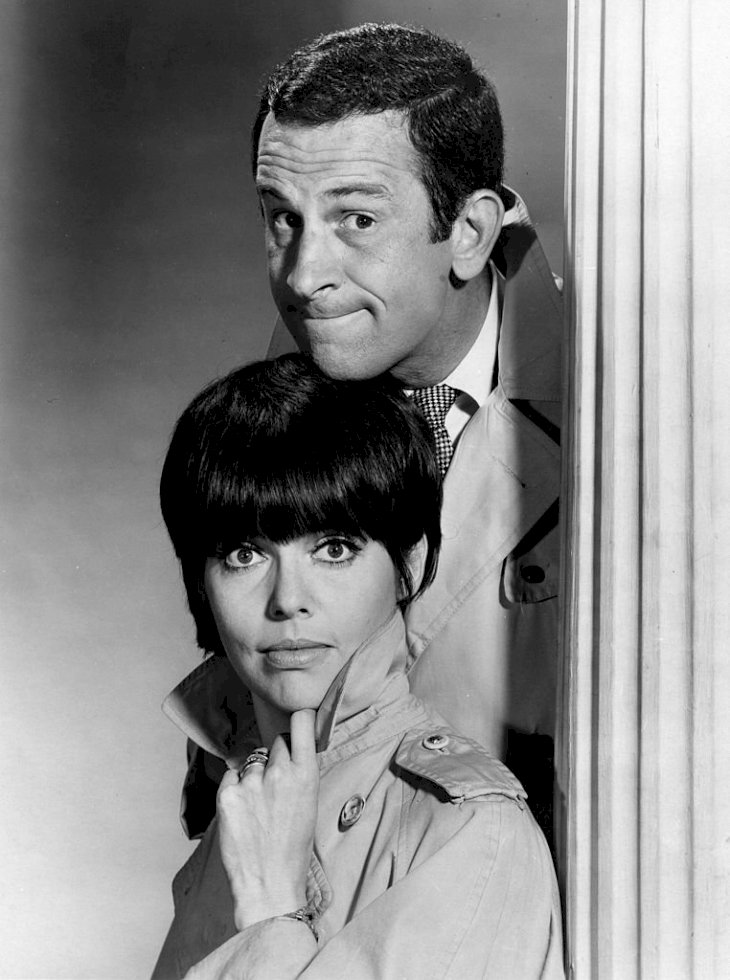 Image Credit: Getty Images/Michael Ochs Archives | Portrait of Adams and Feldon as Agents 86 and 99