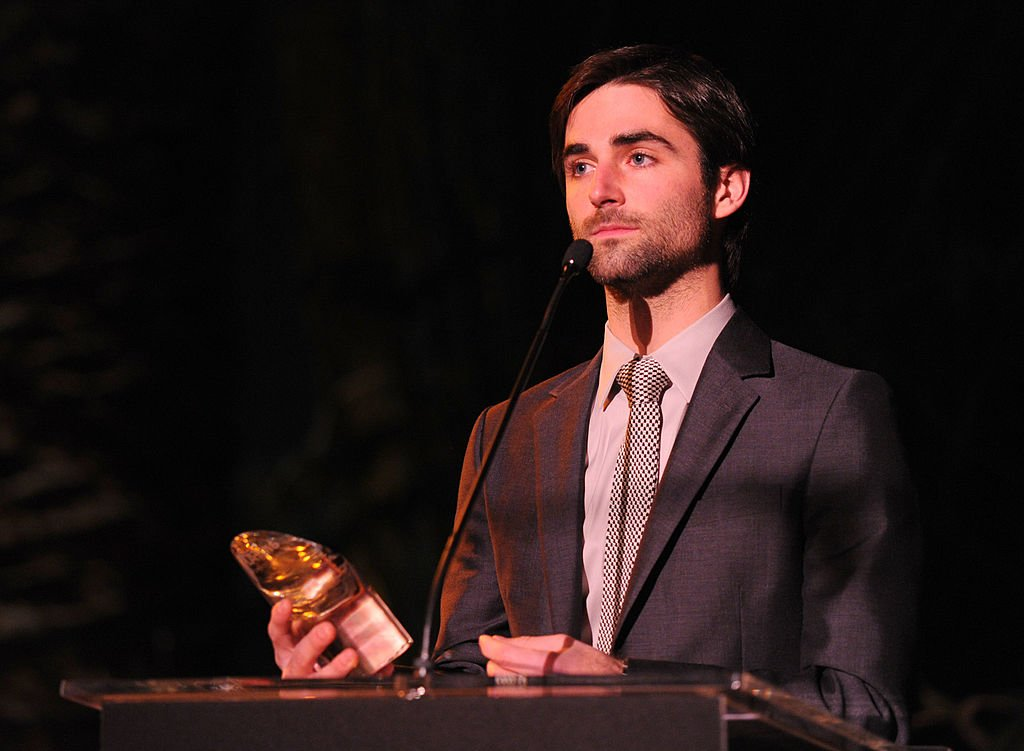 Image Credit: Getty Images / Quinn Tivey accepts the Courage Award at the Chateau Marmont on October 27, 2011 in Los Angeles, California.