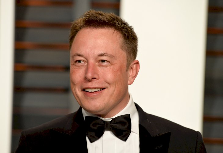 Image Credit: Getty Images / Elon Musk on the red carpet.