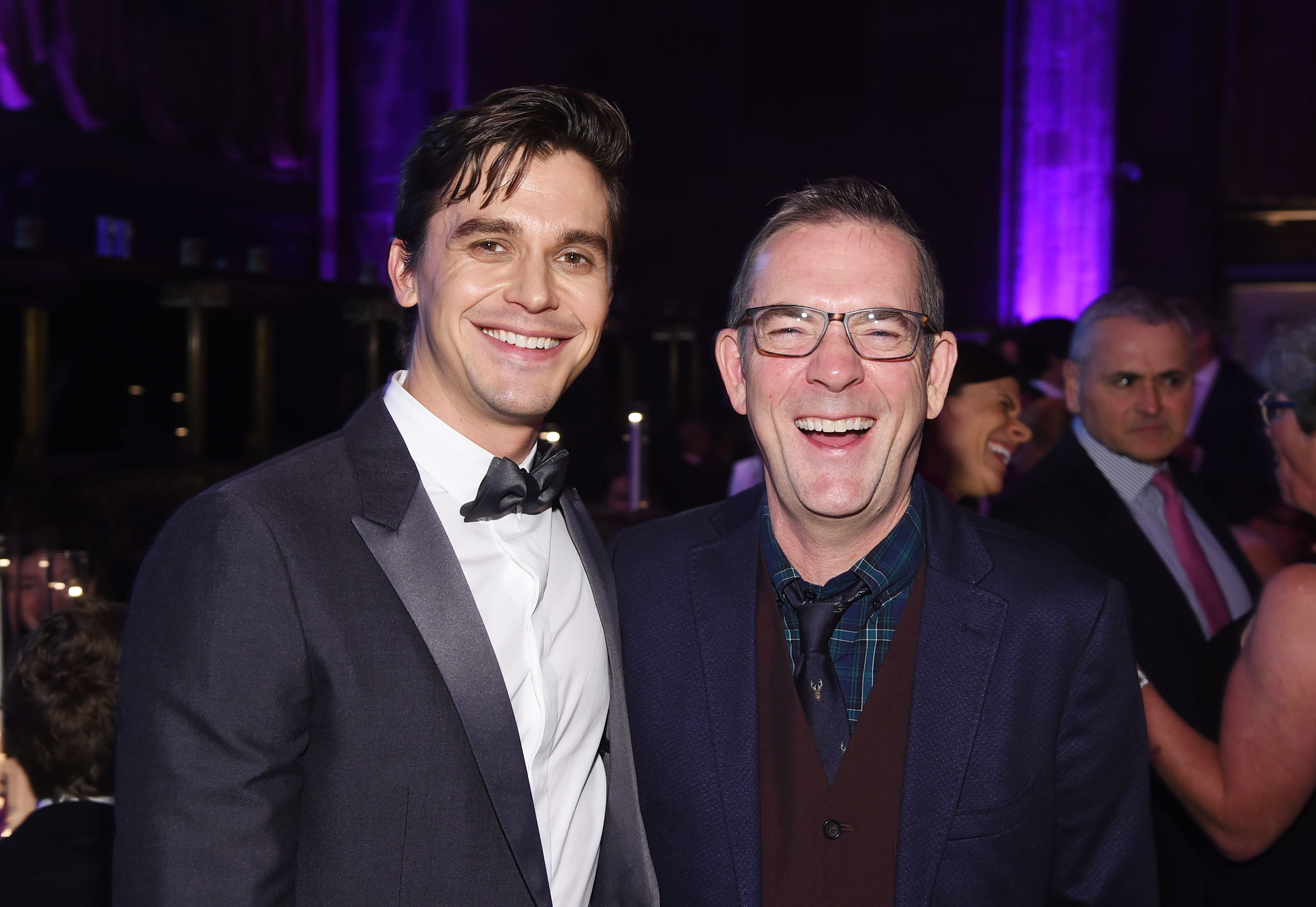 Antoni Porowski and Ted Allen attend City Harvest: The 2019 Gala / Getty Images