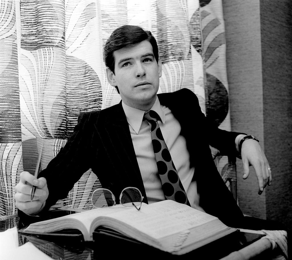 Image Source: Getty Images/Redferns/Jeremy Fletcher | Brosnan as a young actor in 1978
