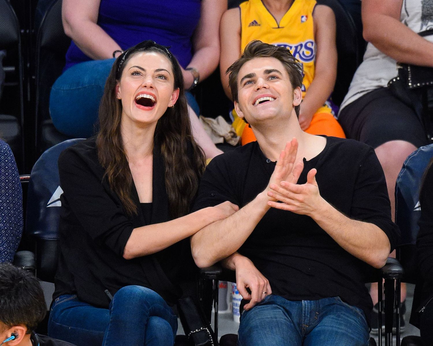 Paul Wesley and Phoebe Tonkin/Photo:Getty Images