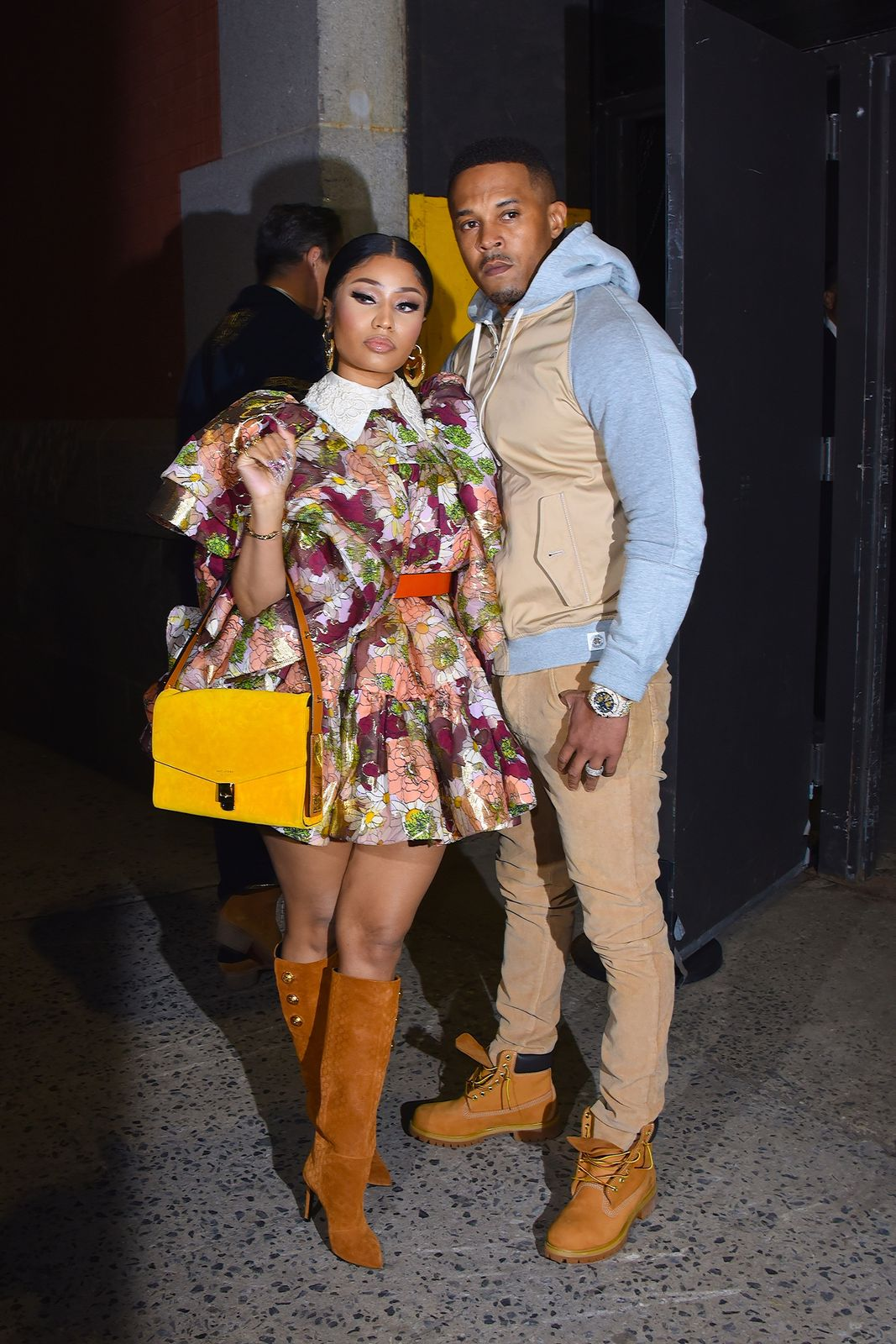 Nicki Minaj and Kenneth Petty/Photo:Getty Images
