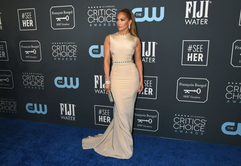 Image Credit: Getty Images / Jennifer Lopez attends the 25th Annual Critics' Choice Awards at Barker Hangar on January 12, 2020.