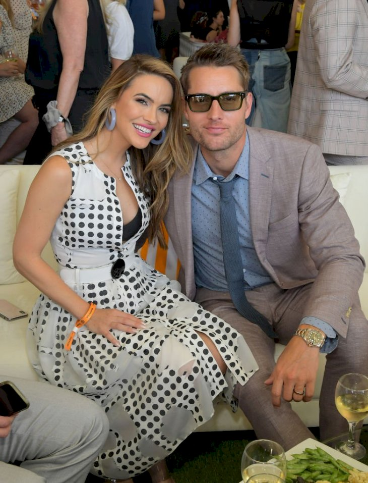 Image Credit: Getty Images / Chrishell Stause and Justin Hartley arrives at the 10th Annual Veuve Clicquot Polo Classic Los Angeles at Will Rogers State Historic Park on October 05, 2019.