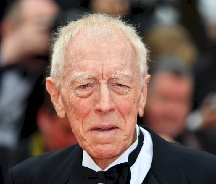 Image Credit: Getty Images/Anadolu Agency/Mustafa Yalcin | Max von Sydow arrives for the screening of the film 'The BFG at the 69th annual Cannes Film Festival 2016