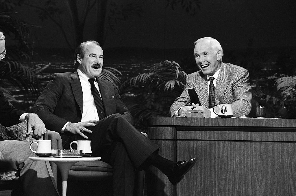 Image Credit: Getty Images / THE TONIGHT SHOW STARRING JOHNNY CARSON -- Pictured: (l-r) Actor Dabney Coleman during an interview with host Johnny Carson on April 25, 1991.