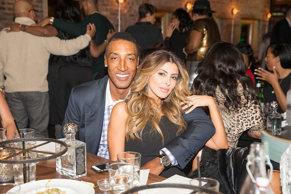 Image Credits: Getty Images / Bobby Metelus | Scottie Pippen and Larsa Pippen attends The Gentlemen?s Supper Club a Private Dinner hosted by Dwyane Wade, Chris Paul and Carmelo Anthony during NBA All-Star Weekend 2015 at The Catch on February 14, 2015 in New York, New York.