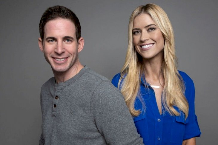 Image Credit: Getty Images/Corbis/Aaron Rapoport | Tarek and Christina El Moussa, hosts of HGTV's hit show Flip or Flop