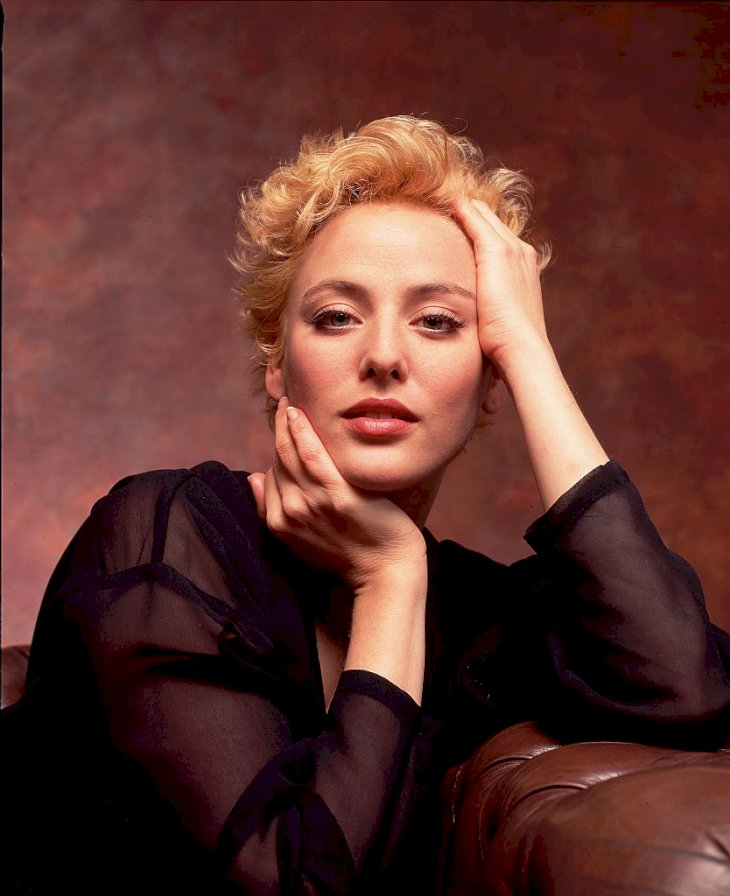 Image Credit: Getty Images/Corbis via Getty Images/Kurt Krieger | A portrait of the American actress Virginia Madsen from 1993