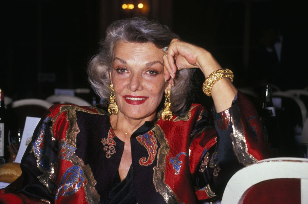 Image Source: Getty Images/Pool GARCIA/PICOT/Jane Russell at the Deauville Festival in 1990
