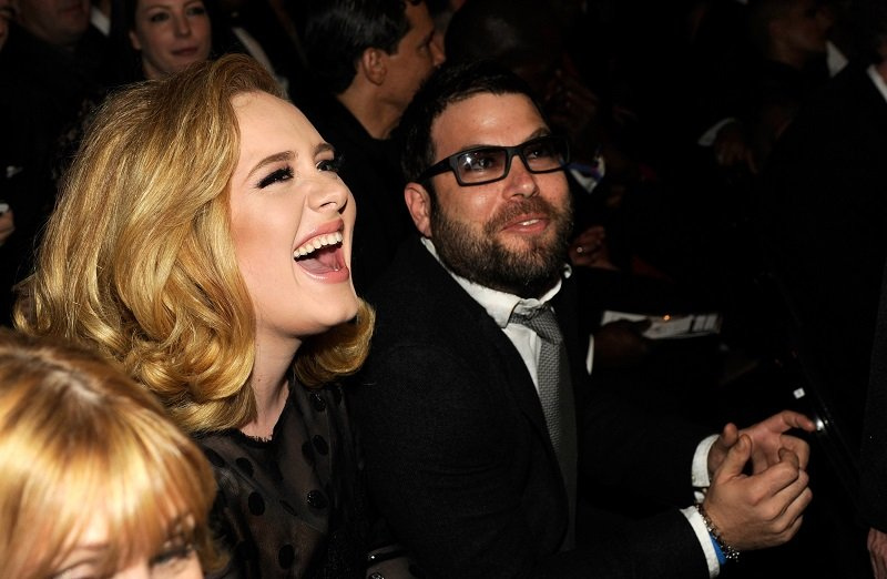Image Credit: Getty Images / Adele and former husband, Simon Konecki, at an event.